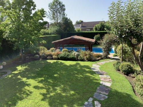 Jardín diseñado en Rivas Vaciamadrid