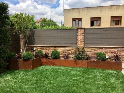 Jardín diseñado en Pozuelo de Alarcón