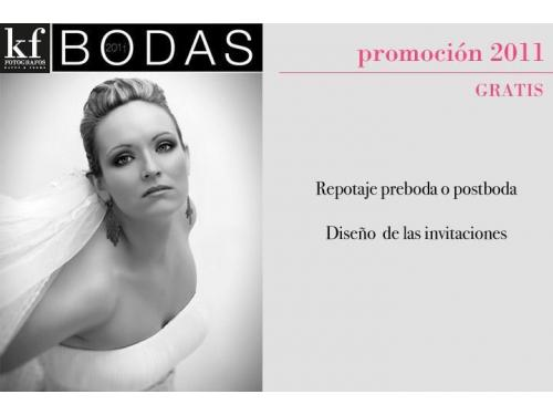 KF STUDIO BODAS HUELVA PROMOCIONES 2011-2012
