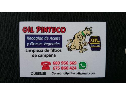 Oil Pintuco Reciclaje y Recogida de Aceite