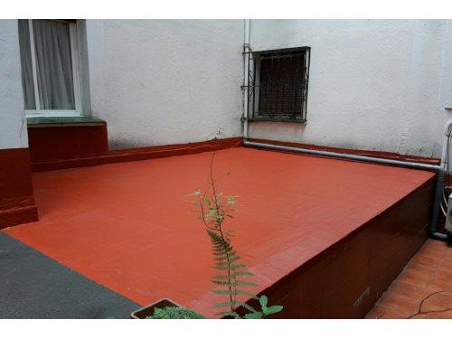 Impermeabilización de patios
