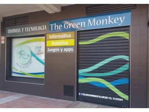 Fachada The green monkey alcorcon Idomas + Tecnologia II