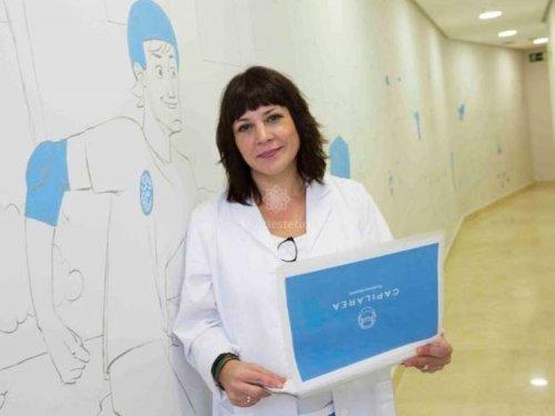 Soledad Gómez, Tricólogo en Capilárea