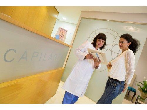 Instalaciones Clínica Capilárea en Madrid
