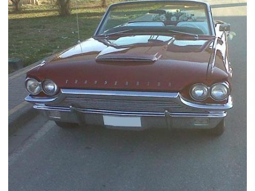 Ford thunderbir cabrio de 1964