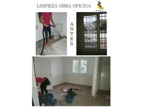 Limpieza Obra Oficina 2
