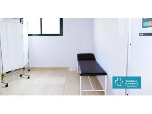 Consulta médica en Policlínica Navalmoral