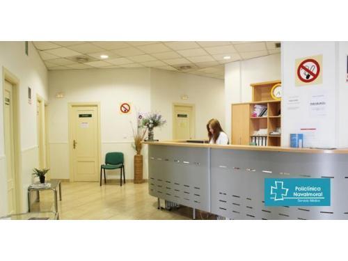 Recepción y Atención al cliente en Policlinica Navalmoral