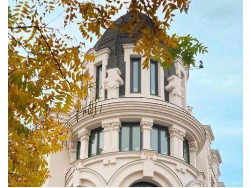 Recepcion de Hotel Innside Madrid Génova