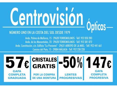 acc74a5807 Ópticas Centrovisión, Málaga | Ópticas Citiservi