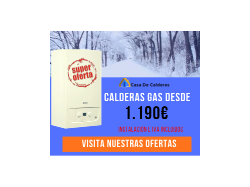 Ofertas calderas de gas