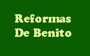 Reformas de Benito